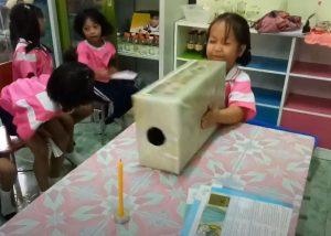 ทดลองพลังงานของลมโรงเรียนบ้านหาดสำราญมิตรภาพที่207