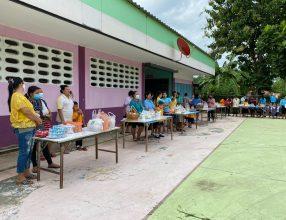 โรงเรียนบ้านหาดสำราญ มิตรภาพที่ 207 จัดกิจกรรมวันแม่แห่งชาติ ปี 2563