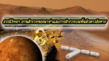 ธรณีวิทยา ยานสำรวจของนาซ่าและการสำรวจบนพื้นผิวดาวอังคาร